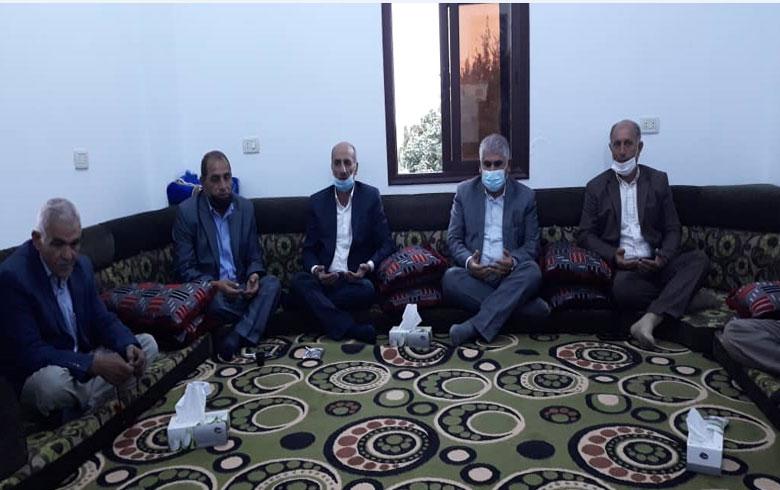 وفد من الـ PDK-S يشارك في مجلس عزاء البيشمركة غازي محمد شكر