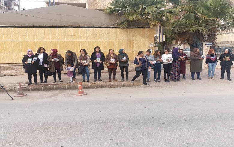 اتحاد نساء كوردستان سوريا يقوم بسلسلة من النشاطات