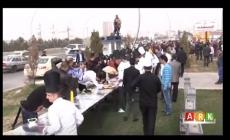 Hewlêr....Şêfekê Sûrî Mezintirîn sandiwîşa şawirma çêkir